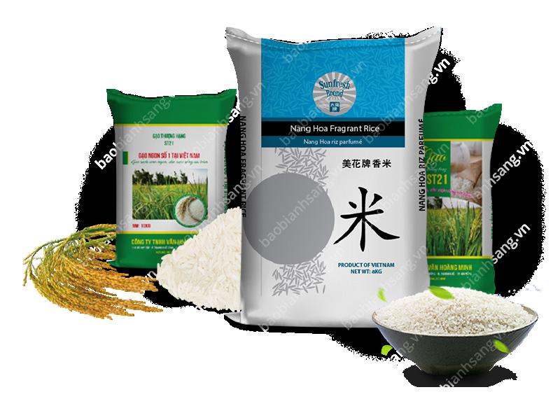 Kết quả hình ảnh cho bao bì gạo