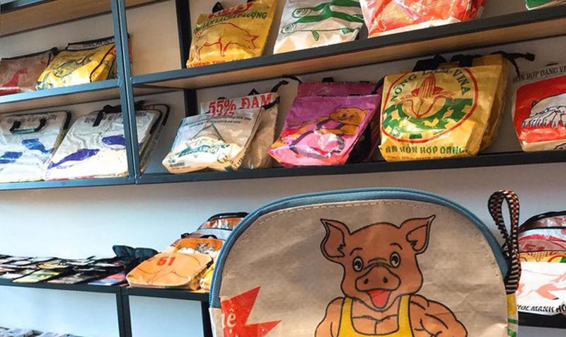 bao bì thức ăn gia súc VN khi sang Nhật