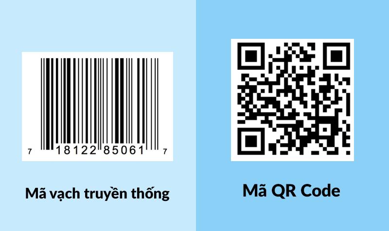 Sự khác biệt giữa QR Code và Bar Code