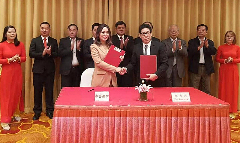 Vinapharma Group kí hợp đồng với Trung Quốc