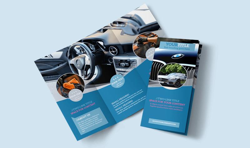 brochure automobile