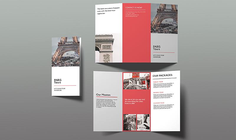 brochure ngành du lịch