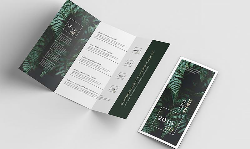 Brochure thể hiện tinh thần của doanh nghiệp
