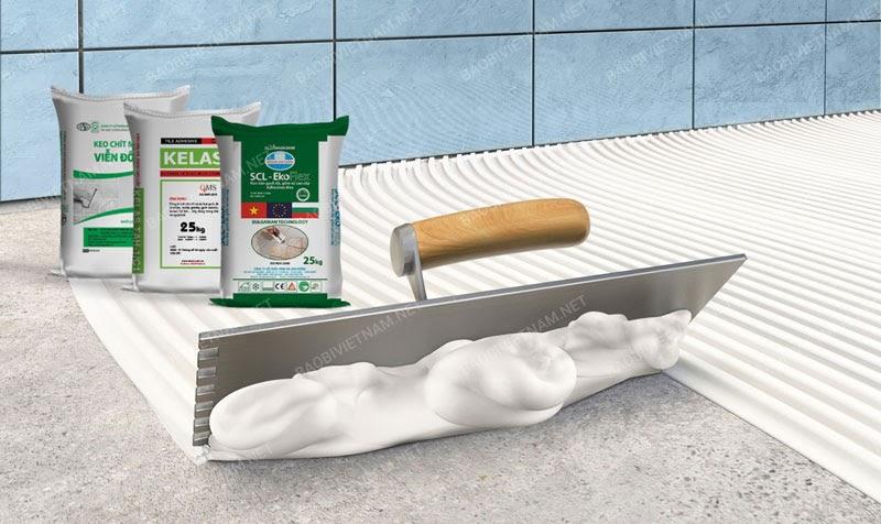 Bao bì keo dán gạch cũng là một sản phẩm đảm bảo yếu tố thương hiệu