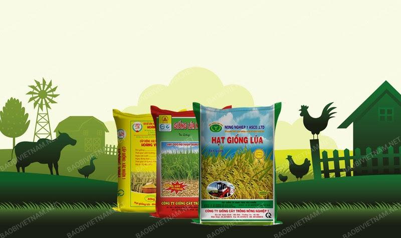Bao bì lúa giống góp phần thúc đầy phát triển nông nghiệp