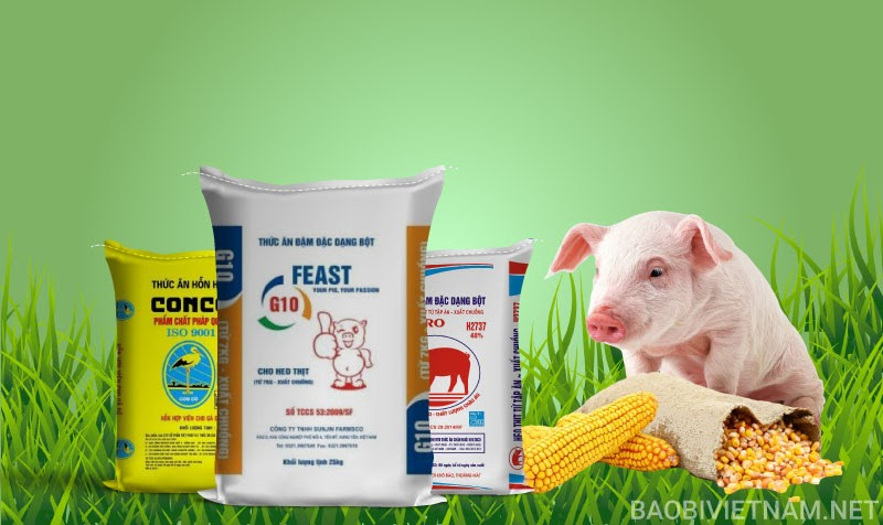 Bao bì thức ăn gia súc chất lượng và đúng tiêu chuẩn
