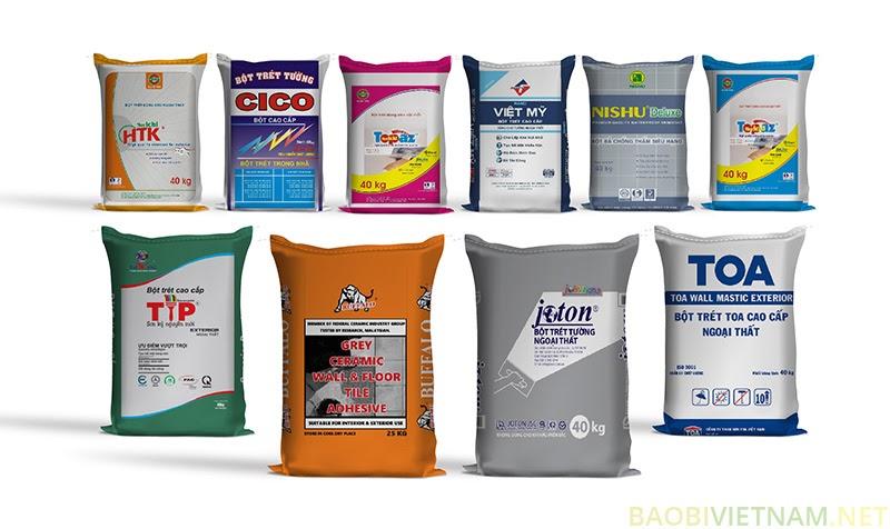 Bao bì bột trét tường cao cấp – Sản phẩm dẫn lối thành công