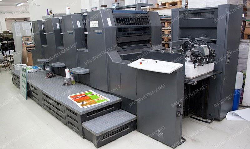 Công nghệ in offset làm tăng chất lượng sản phẩm bao bì
