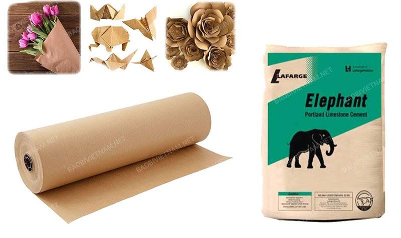 Giấy Kraft nhập khẩu từ Nhật ứng dụng trong nhiều lĩnh vực trong đó có ngành sản xuất bao bì