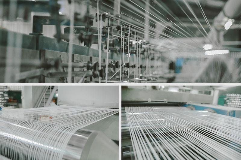 máy móc sản xuất dợi vải pp