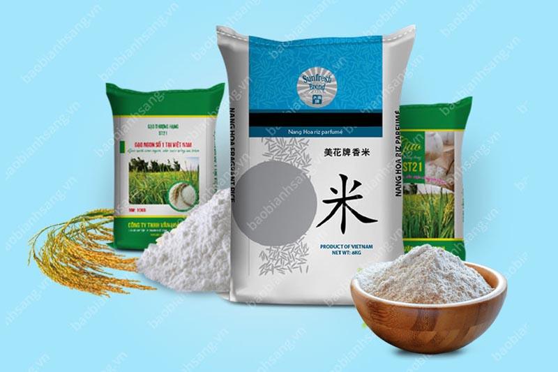 sản phẩm sản xuất từ Bao Bì Ánh Sáng