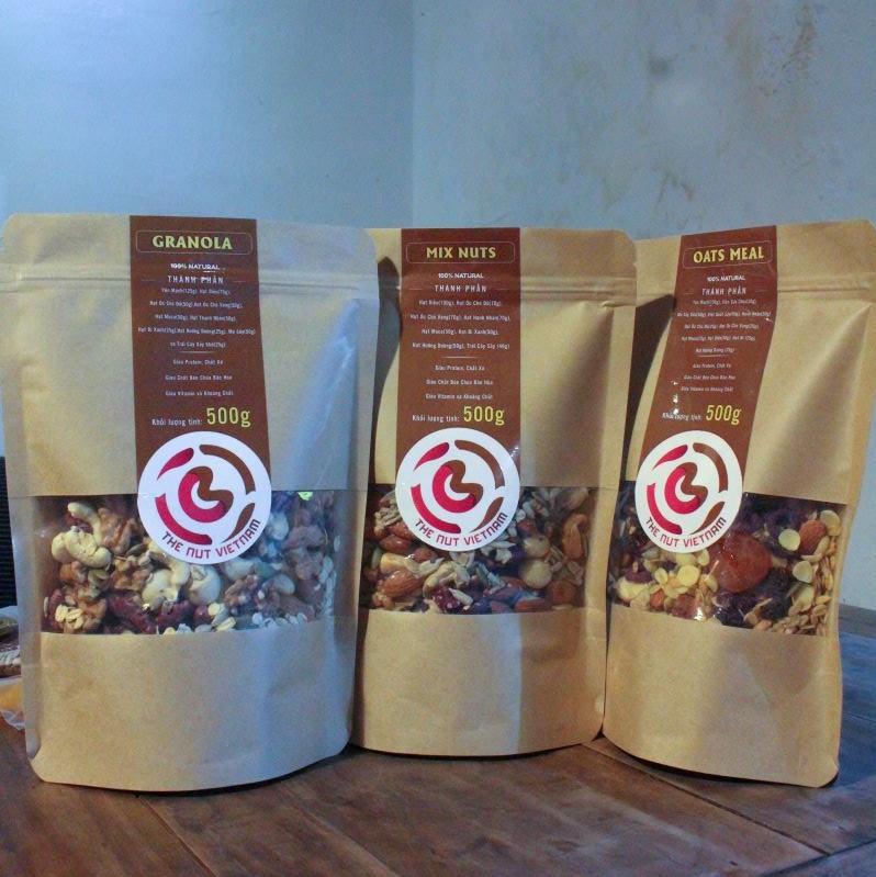 các loại hạt dinh dưỡng thương hiệu The Nut Việt Nam